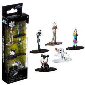 ディズニー ナイトメアー ビフォア クリスマス ナノ メタルフィグス 5体セット Nano Metalfigs 30042 Disney Tim Burton's The Nightmare Before Christmas Metals Die-Cast Collectible Toy Figures 5 Pack【定形外郵便は送料無料】