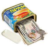 SPAM型シークレットセーフ 隠し金庫 へそくり隠し 定形外郵便は送料無料