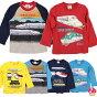 新幹線Tシャツ男の子キッズ長袖100110120130子供服綿100%電車ドクターイエローこまちはやぶさはやてやまびこなすののぞみ
