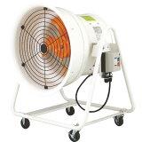 スイデン 送風機 こでかファン ハネ径400mm 低騒音タイプ 三相200V 角度調節可能 4輪キャスター付 SJF-404A ( SJF404A ) (株)スイデン