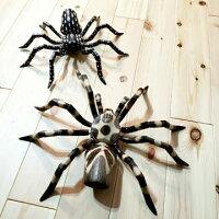 アジアンバリ雑貨蜘蛛置物インテリアクモ木製インドネシア壁掛け