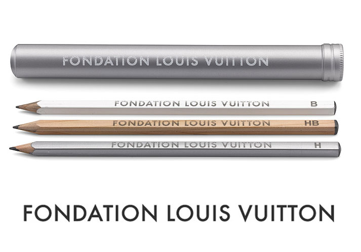 筆記具, 鉛筆 LOUIS VUITTON3FONDATION LOUIS VUITTON