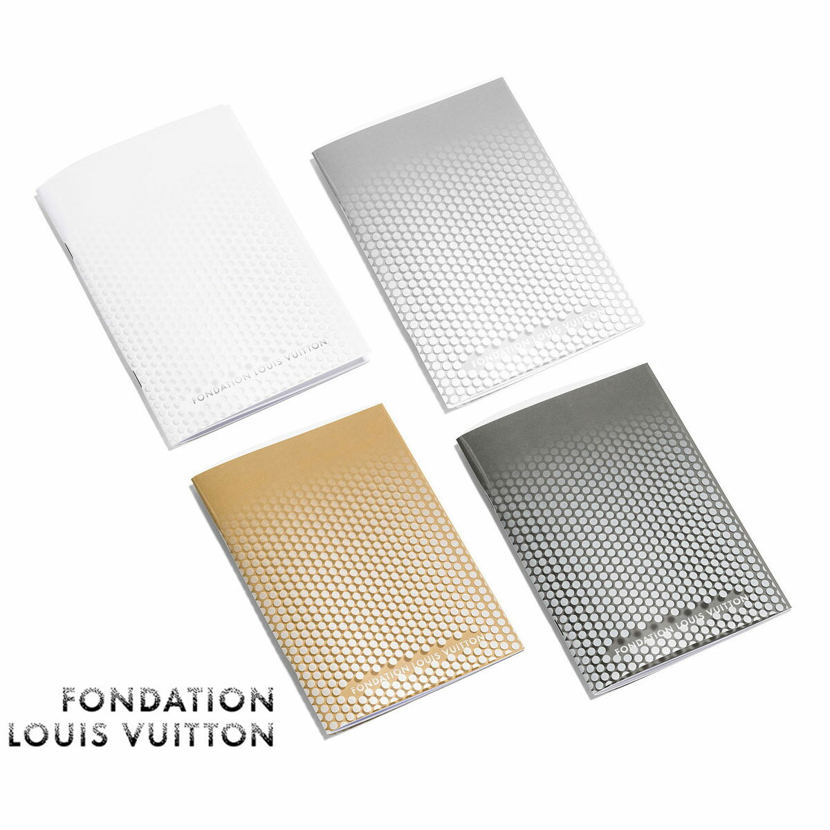 手帳・ノート, ノート LOUIS VUITTON4FONDATION LOUIS VUITTONPolka-dotted Notebook
