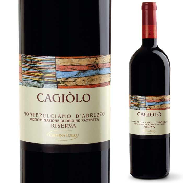 ワイン, 赤ワイン  2013 750mlCagiolo Montepulciano dAbruzzo Dop Riserva