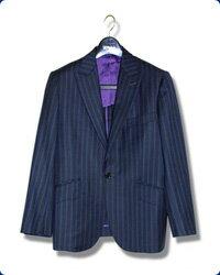【ひらつかの仮縫い付オーダーメイドスーツ】ツーパンツスーツ/メンズ/合夏物・合冬物(ウール100% Super100'S)