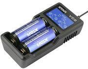 エクスター リチウム ディスプレイ スロット バッテリーチャージャー ニッケル