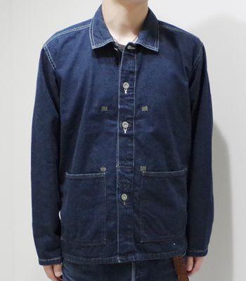 メンズファッション, コート・ジャケット BUZZ RICKSONS U.S.ARMYM.O.D.ARMY DENIM PULL OVER JACKETBR14095(Other jacket)