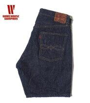 WAREHOUSEウエアハウスデニムショーツ 13.5oz『DD-1550DENIMSHORTS』【アメカジ・ワーク】DD-1550(Shorts)