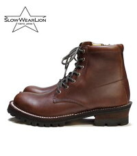 9d5335f1a86f SLOW WEAR LION スローウエアライオン ダブルステッチダウン クロムエクセルレザープレーンブーツ『CHROMEXCEL LEATHER  PLAIN MID BOOTS』【ブーツ・ ...