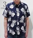 DUKE KAHANAMOKU デュークカハナモク Special Short Sleeve『DUKE'S PINEAPPLE』【洋柄・アロハ】DK36201(Aloha)(Short sleeve shirt)