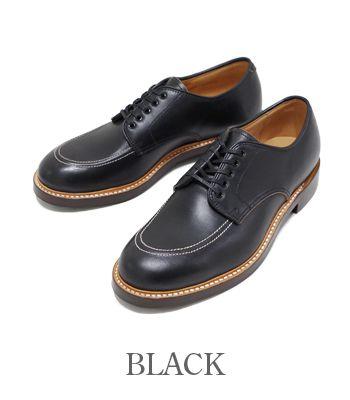 WHEEL ROBE ウィールローブ グッドイヤーウェルト製法|HORWEEN社製のクロムエクセルを採用した国産オックスフォード『MOC TOE OXFORD』【ブーツ・アメカジ】15067(Boots)(std-boots)
