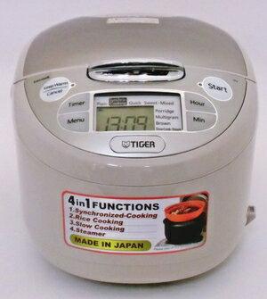 【Tiger/タイガー】海外向け炊飯器タイガー TIGER JAX-S10W(220V)中国国内保証書付き