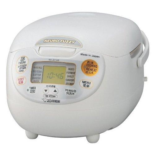 象印 ZOJIRUSHI NS-ZLH18-WZ  [炊飯器ツーリストモデル220V]中国国内保証書付き