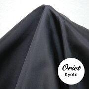 シルク羽二重生地ブラック(黒)12匁/シルク100%/シルク黒/シルク布【532P26Feb16】