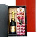【ワインとお花、スイーツのギフト】スパークリングワイン フランス ローヌ やや甘口 375ml ハーフボトル プリザーブドフラワー ピンク バラ 飴 ローズキャンディ ジャイアンス キュヴェ・インペリアル・トラディション 泡 贈り物 プレゼント お祝い お礼 お返し あす楽