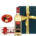誕生日 送別 贈りもの 【ワインとスイーツのギフト】 白ワイン ……