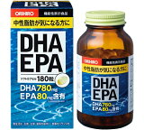 【エントリーでポイント最大4倍】【アウトレット】 オリヒロ DHA EPA 180粒 ソフトカプセル 30日分 orihiro