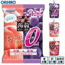 オリヒロ ぷるんと蒟蒻ゼリー パウチ ピーチ+ライチ(12個入*12袋セット)【ぷるんと蒟蒻ゼリー】