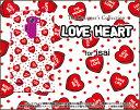 LG style [L-03K] V30+ [L-01K][LGV35] V20 PRO [L-01J] Beat [LGV34] vivid [LGV32]ハードケース/TPUソフトケースLOVE HEART(ドット・ランダム)スマホ/ケース/カバー/クリア【メール便送料無料】