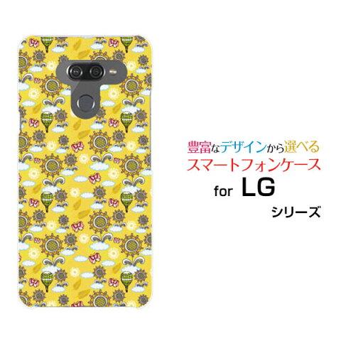 LG style2 [L-01L] LG K50 LG style [L-03K] V30+ [L-01K][LGV35] V20 PRO [L-01J] Beatハードケース/TPUソフトケースひまわりと気球スマホ/ケース/カバー/クリア【メール便送料無料】