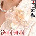【あす楽対応・送料無料】トリプル巻きコサージュ日本製入学式入園式卒業式卒園式結婚式2次会パーティー