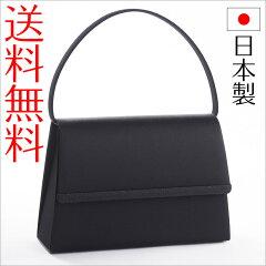 【送料無料】日本製ブラックフォーマルバッグ ジャガード黒 冠婚葬祭 ブラック F1【あす楽対応】【RCP】