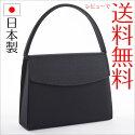 【送料無料】日本製フォーマルバッグ和柄黒冠婚葬祭ブラックF1【あす楽対応】【RCP】02P25Oct14