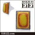 天然石リング、ファッション指輪リング、デザインリングRSKH-01