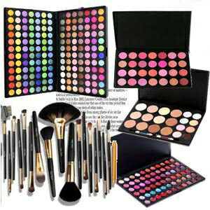 Pro spec 168 color eyeshadow palette, 18 pieces makeup brush storage case with the lip, teak, Concealer, standing mirror MEP-168set03 10P18Oct13