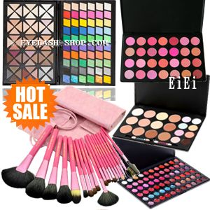 Pro spec 120 colors eyeshadow palette, lip, teak, Concealer, storage case, 20 this brush set, standing mirror MEP-120set01 10P18Oct13