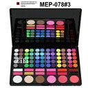 プロ用アイシャドウパレット、メイクパレット、アイズパレット78色 MEP-078#3S2 (アイシャドウ)