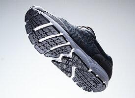 【送料無料あす楽】MIDFOOTミッドフットウォーキングシューズ|スニーカー靴くつシューズメンズ紳士男性クッション歩きやすい疲れにくい幅広柔らかい通勤カジュアルシューズ黒ブラックミッドフット歩行