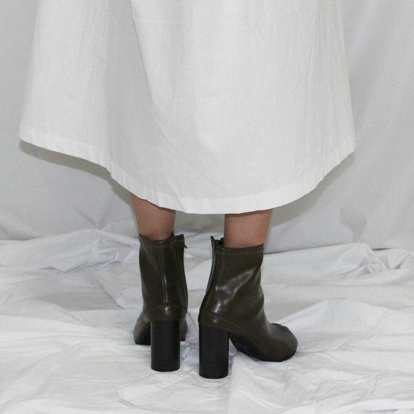 【送料無料】ブーツ足袋ブーツタビショートブーツミドルブーツレザー足袋TABIブーツTABI【orubiaオルビア】