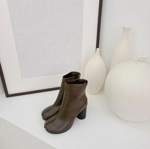 【orubiaオルビア】ブーツ足袋ブーツタビショートブーツミドルブーツレザー