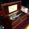 72弁曲目選択かまぼこ型(ドーム型)木製オルゴール(色茶色/ワイン)サンキョーーブメント高級オルゴール記念品プレゼント
