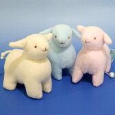 トラセリア ムートンオルゴール(羊) ※マジックテープ式 【クリスマス オルゴール 誕生日 出産祝い 赤ちゃん】 プレゼント
