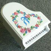 トールペイントピアノ オルゴール クリスマス プレゼント
