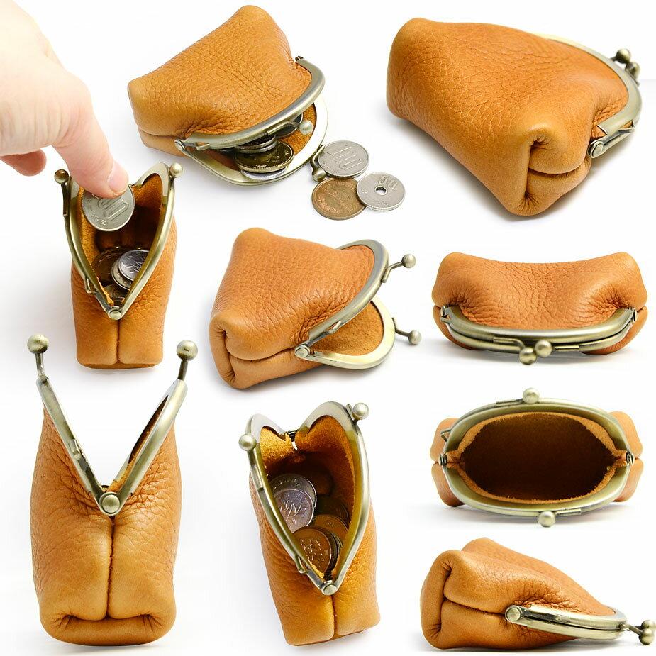 f35f4ed6bf8f 【楽天市場】がま口財布 ヌメ革 本革 日本製 eureka leathercraft .