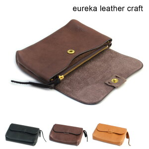 8ed1d6c8bb14 【送料無料】短財布 ヌメ革 本革 日本製 eureka leathercraft ユリカレザークラフト