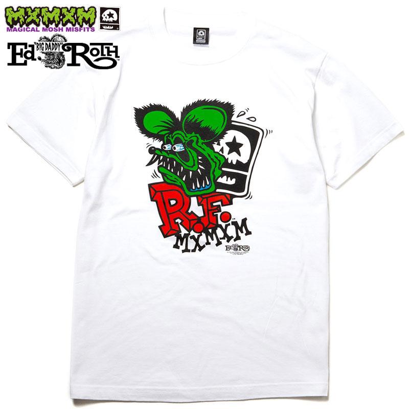 トップス, Tシャツ・カットソー  MAGICAL MOSH MISFITS RATFINK x MxMxM MAGICAL MOSH RATFINK TEE( WHITE)T MAGICAL MOSH MISFITST T