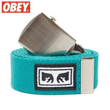 オベイ OBEY BIG BOY WEB BELT(BLUE GREEN)オベイベルト OBEYベルト オベイガチャベルト OBEYガチャベルト オベイグッズ OBEYグッズ