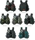 【送料無料】ダイワ(daiwa) DF-6206 (フロートゲームベスト)ブラックレッド/ブラックイエロー/グレーライム/ジェットブラック/ブラックカモ/ディープグリーン・・・