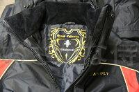 X'SELL「エクセル」透湿防寒・防水着GS−4300サロペットスーツ上下セットブラック
