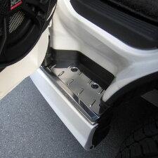 ステンレス製ステップカバー200系ハイエース