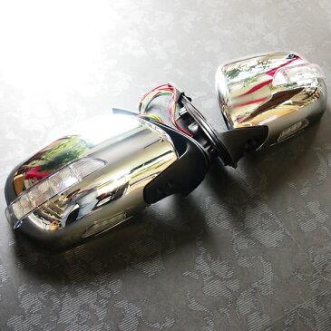 ドアミラー S-GLタイプ交換型LEDウインカーウェルカムライト付 200系ハイエース1,2,3,4型