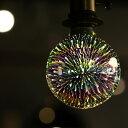 【大人気商品再入荷!】 LED 電球 E26 1.3W 花火