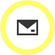 メール手紙3mmアイコンの浸透印シャチハタタイプ[7561010]