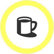 カフェマグカップ3mmアイコンの浸透印シャチハタタイプ[7561026]