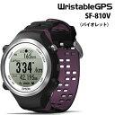 【即納】SF810エプソン EPSON SF-810V(バイオレット)【脈拍計測機能搭載モデル|GPS機能搭載...