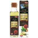 日本製粉 ニップン アマニ油プレミアムリッチ 186g 【食